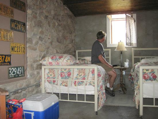 The Stone Village Tourist Camp: Camp room