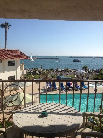 Oceanside Marina Suites: View from room