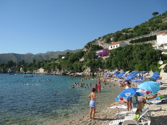 Villa Doris Apartments Stikovica: Пляж