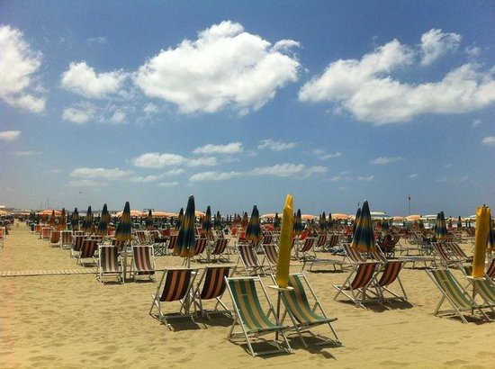 Hotel Arcangelo: plage