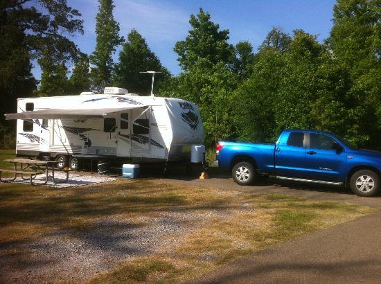 Fontainebleau State Park: Campsite
