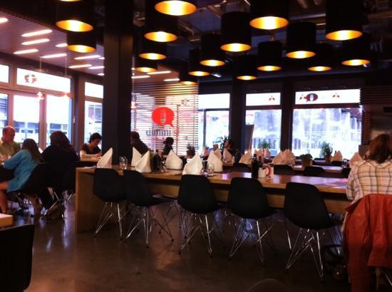Esch-sur-Alzette, Luxembourg: la salle de restaurant