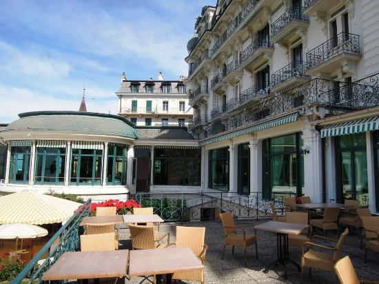 Eden Palace au Lac: Forier of the hotel
