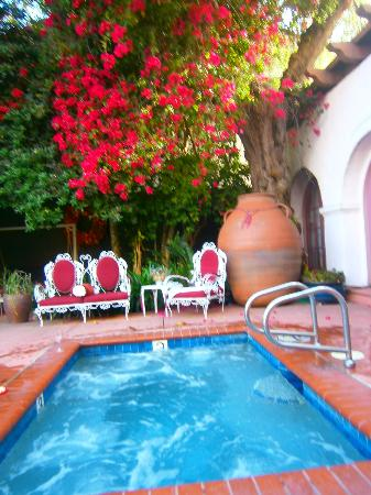 Jacuzzi Picture Of Villa Rosa Inn Santa Barbara
