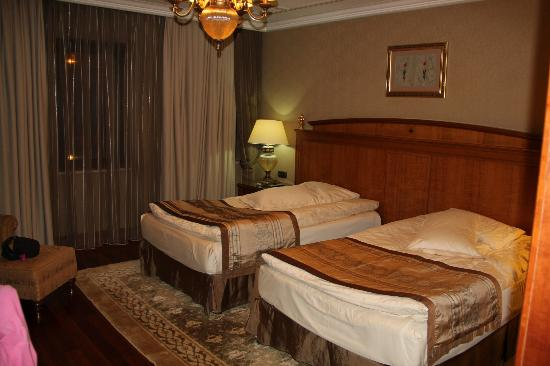 The Central Palace Hotel: First floor twin room