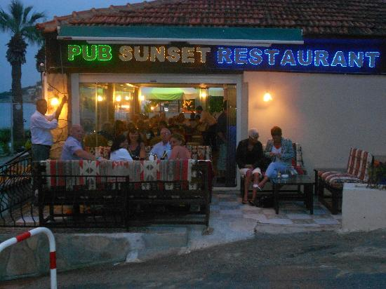 Sunset Restaurant: Chill out area