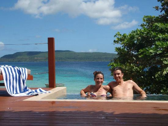The Havannah Vanuatu Our Own Mini Infinity Pool On Private Patio Perfect