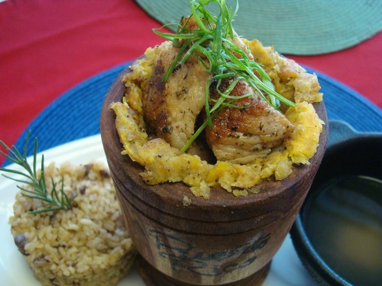 Chefs On The Run Assorted Cuisine: Pork Mofongo (All day)
