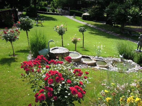 Hotel Eden: Beautiful and well maintained grounds