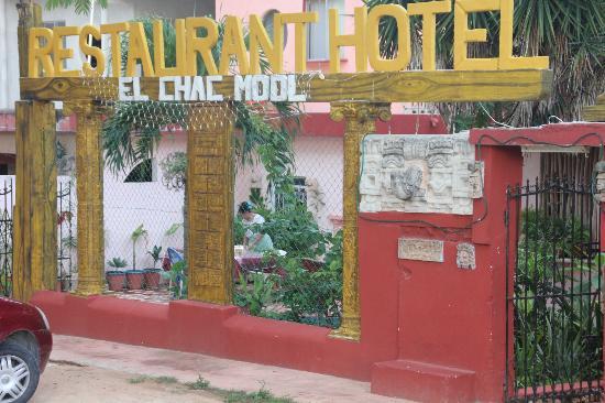 Restaurant El Chac-Mool : le chac-mool