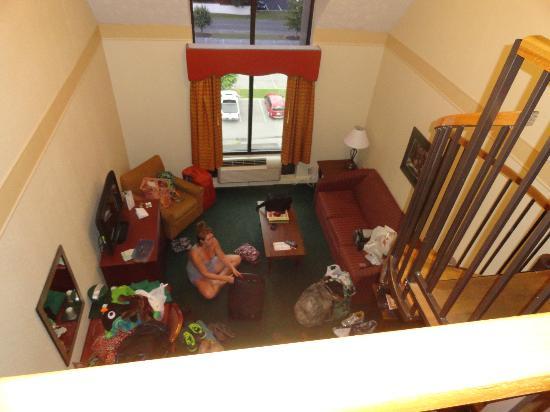 Country Cascades: Penthouse Suite