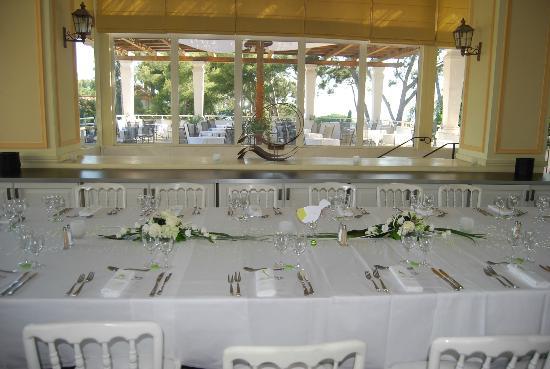 restaurant picture of saint cyr sur mer var tripadvisor. Black Bedroom Furniture Sets. Home Design Ideas