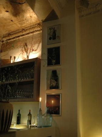 Brasserie la bonne franquette : hinter der Bar