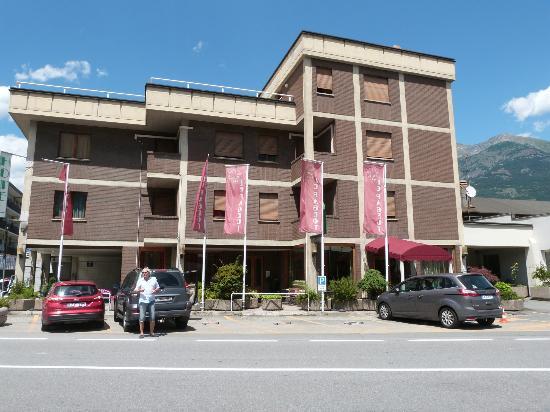 Hotel Le Pageot : Hôtel Le Pageot, Aoste
