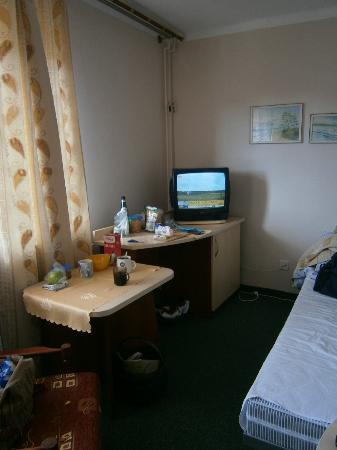 Hotel Afrodyta: Pokój dla trzech osób - wyposażenie z XXI wieku?