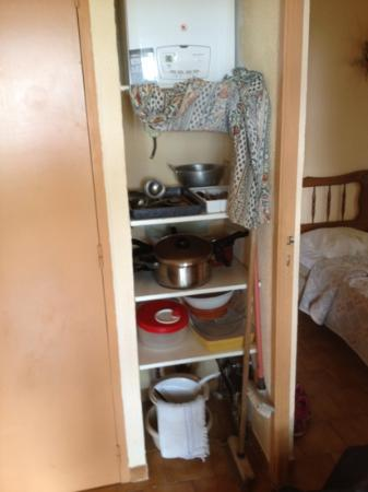 La Colline des Ocres : rangement maisonnette 07/2012