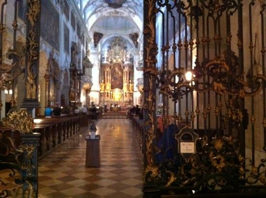 St. Peter's Abbey (Stift St. Peter): interior of st.peters