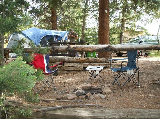 Estes Park Campground at East Portal: Another Angle of Campsite A01