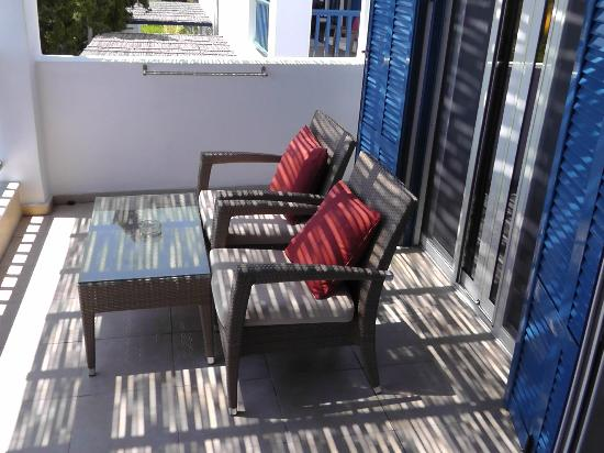 Robinson Club Daidalos: Balkon 
