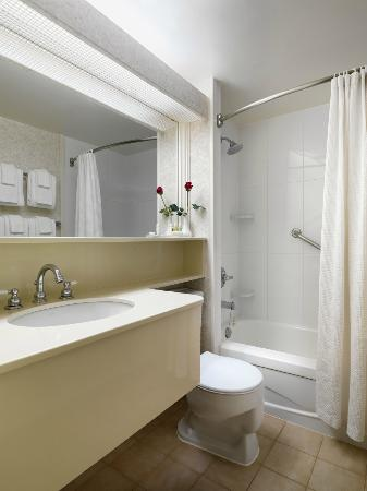 Royal Scot Hotel & Suites: Studio Suite Bathroom