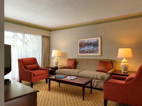 Royal Scot Hotel & Suites: One Bedroom Suite Living Room