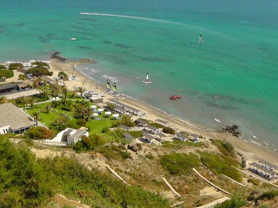 Robinson Club Daidalos: Blick auf den Strand