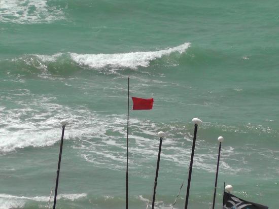 Robinson Club Daidalos: Rote Flagge