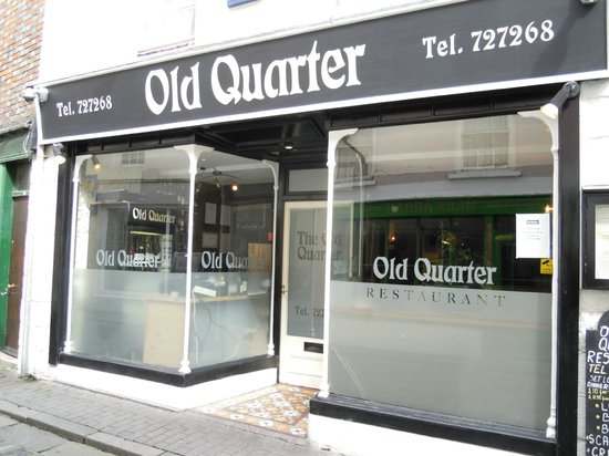 The Old Quarter Restaurant: Pity about the reception