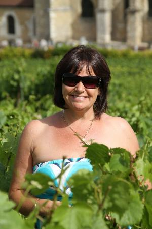 Champagne Domi Moreau: Me amongst the vines