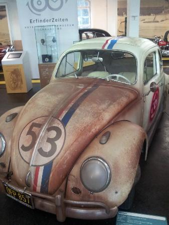 Auto-und Uhrenwelt: Herbie the film star