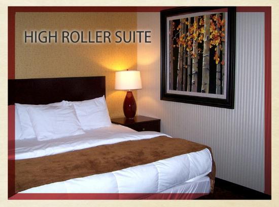 St. Croix Casino Danbury: High Roller Suite View