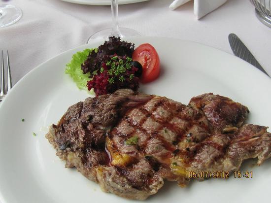 Restaurante Lily's: Bife a la piedra