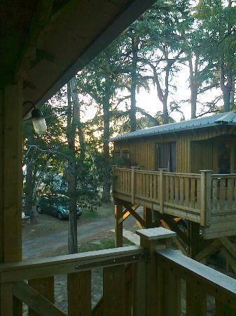 Albirondack Camping Lodge & Spa: CABANA NEL CAMPING