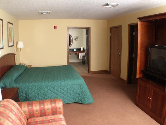 St. Croix Casino & Hotel Turtle Lake: Standard Room View