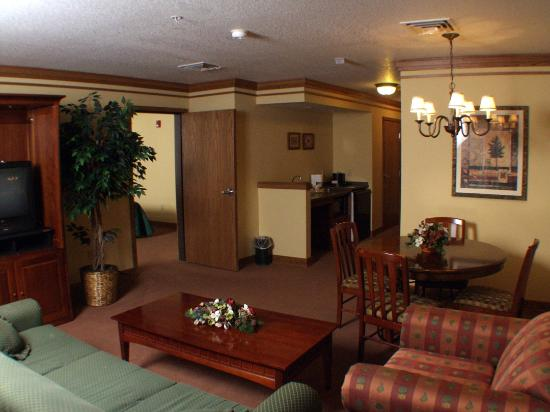 St. Croix Casino & Hotel Turtle Lake: Suite View