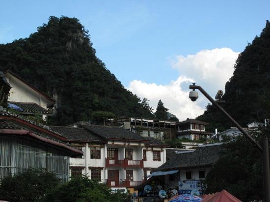 Zhenmei Holiday Hotel Guilin Yangshuo Aiyuan: Blick auf das Hotel