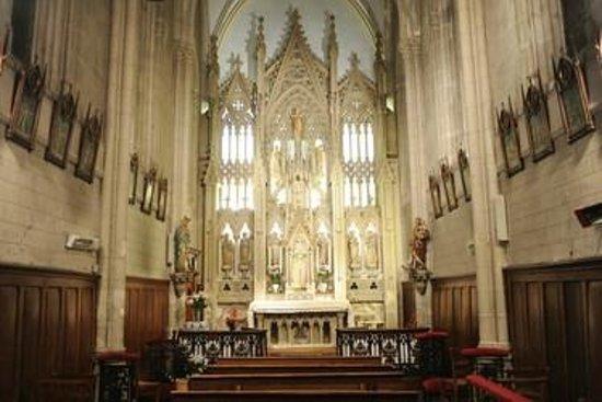 La Rochelle, França: Intérieur de la chapelle, bâtiment classé