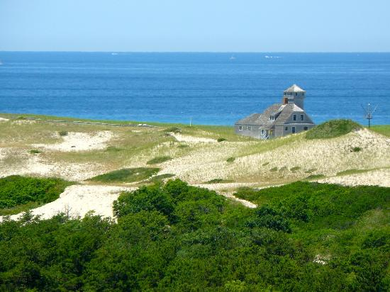 Cape Cod National Seashore: View from Provincelands Visitor Center observation deck