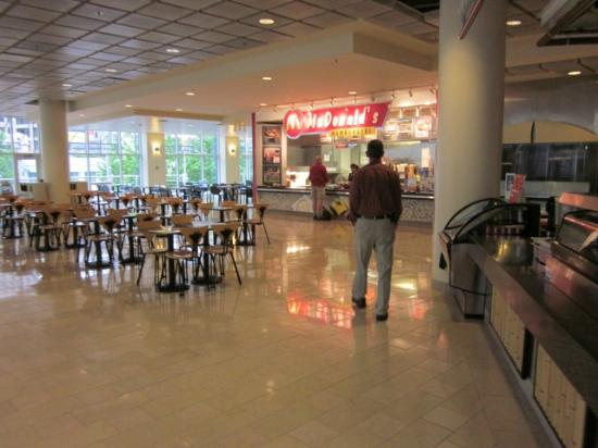 Mayflower Park: Food Court