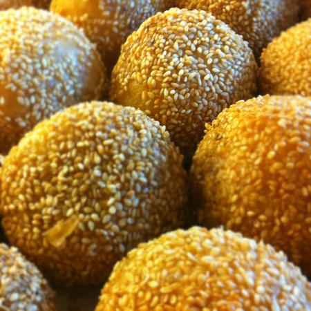 Tasty Tours: Sesame Balls from Ding Dong Pastries
