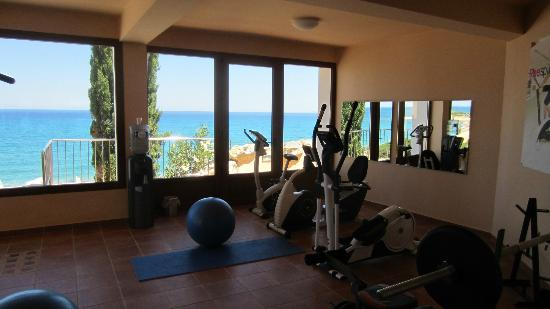 Gym with a sea view picture of regina dell acqua resort for Gimnasio xperience