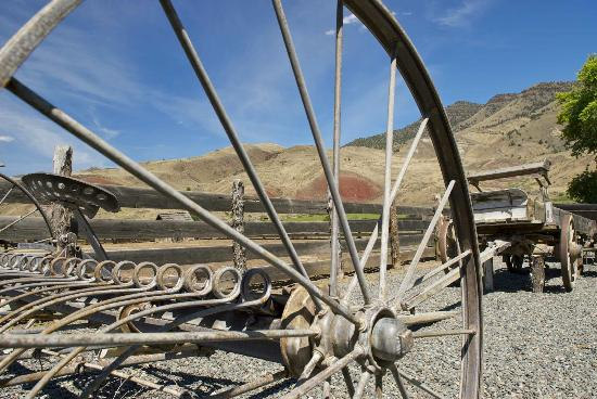 John Day Fossil Beds National Monument: Cant Ranch Views