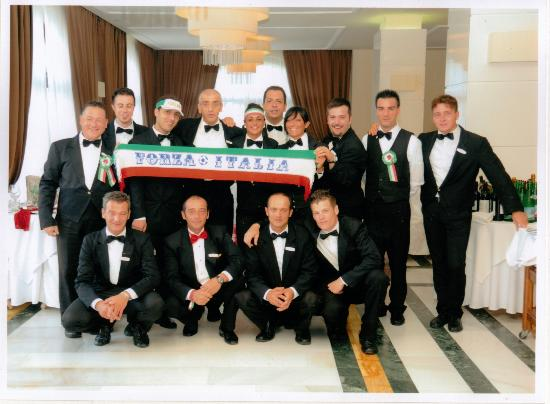 Tui Sensimar Grand Hotel Nastro Azzurro: The fantastic staff at the Nastro Azzurro