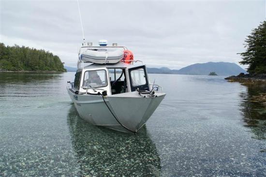Aquatic Alaska Adventures: The boat.
