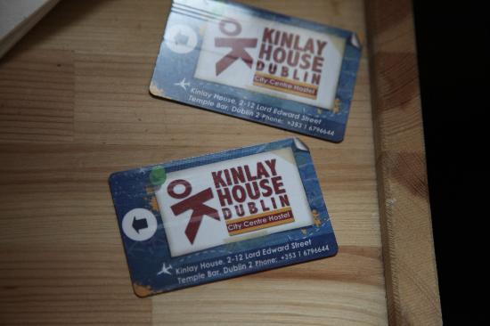 Kinlay House: Tarjetas de la habitación!