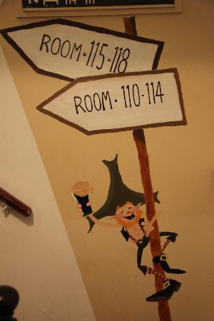Kinlay House: Al subir a la habitación!
