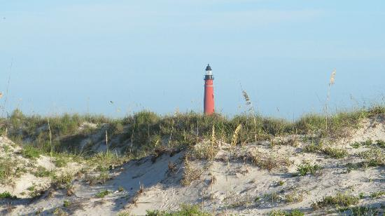 Smyrna Dunes Park Ponce De Leon Lighthouse As Seen From The