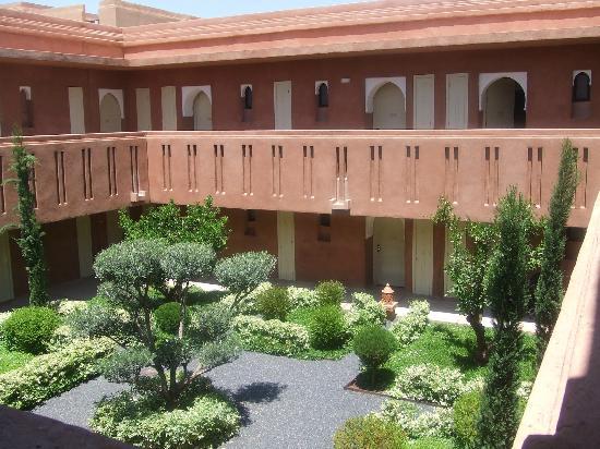 Kenzi Club Agdal Medina: vue de la chambre cote jardin