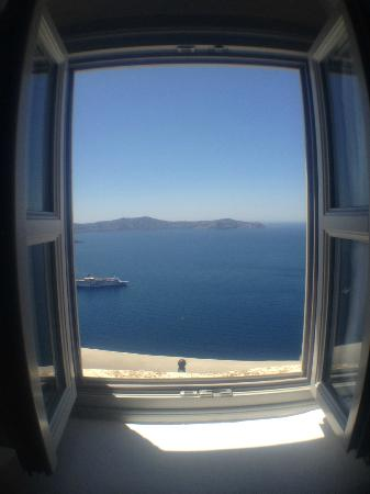 Archontiko Santorini: Bedroom View