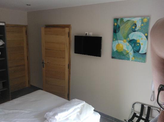 Athena Motel : CHAMBRE ECRAN PLAT